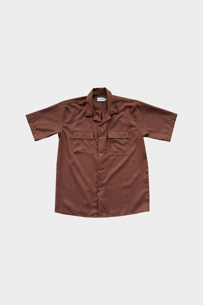 HOVERMEN- Primero Shirt (Chocolate Brown)