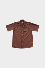 HOVERMEN- Primero Shirt (Chocolate Brown) (4478317166669)