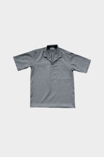 HOVERMEN- Notched Shirt (Heathered Black)