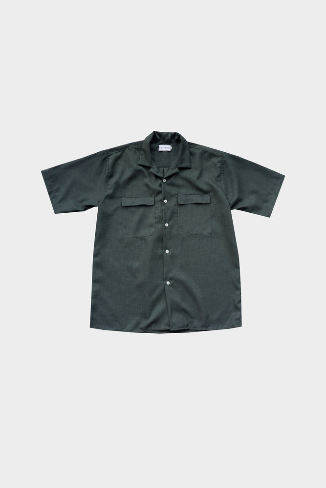 HOVERMEN- Primero Shirt (Military Green) (4478317592653)