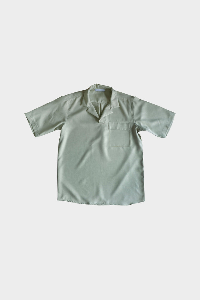 HOVERMEN- Notched Shirt (Heathered Lime)