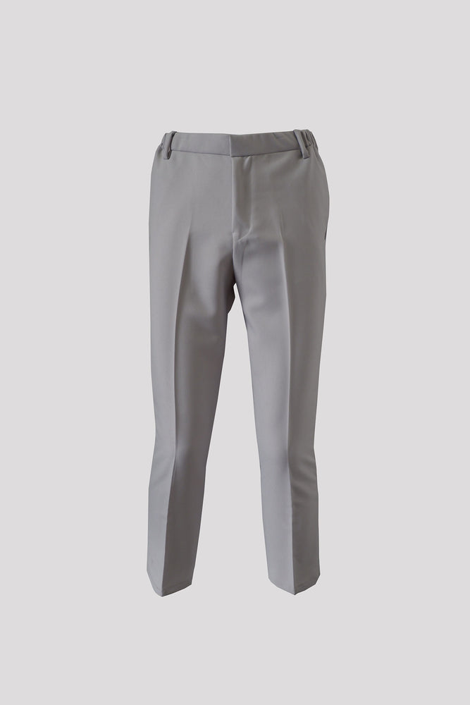 ILUSTRADOS - Ankle Pants (Light Gray) (4484542726221)