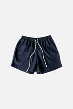 LINEN SHORTS (Midnight Blue) - ILUSTRADOS (4498804015181)