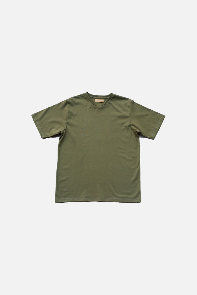 PREMIUM COTTON T-SHIRT (Army Green)