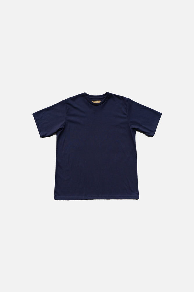 PREMIUM COTTON T-SHIRT (Navy Blue)