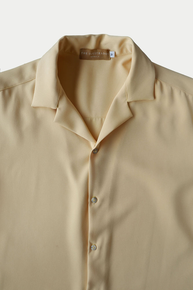 DAVID PREMIUM COLLARED PLAIN POLO ( YELLOW)