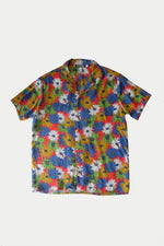 Charito - Printed Cuban Shirt by ILUSTRADOS (2441473065037)