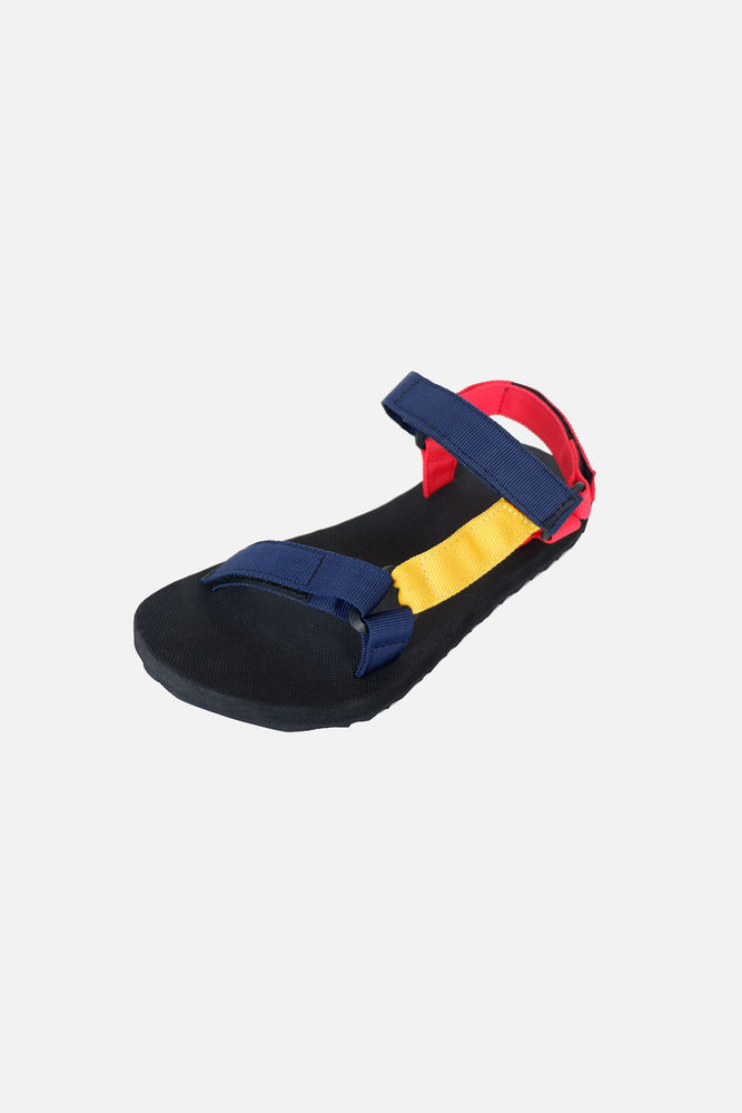 Eco Sandals Tri-color (Red, Yellow, Blue)