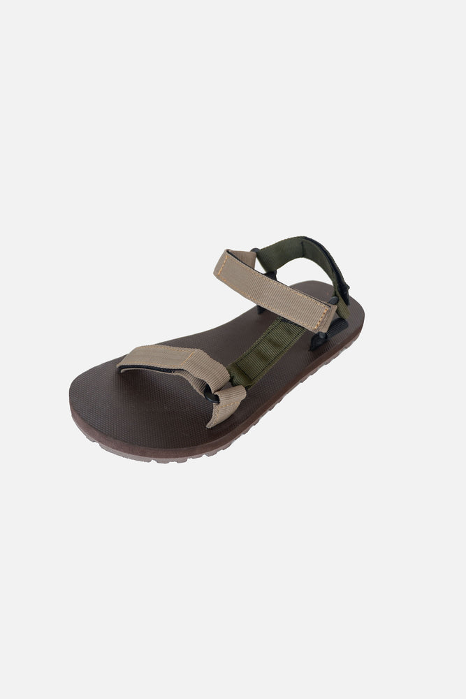 Eco Sandals Tri-color (Khaki, Army Green, Brown)