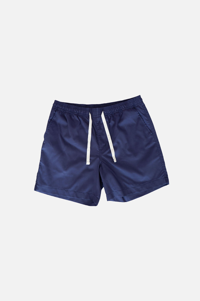 Sprint Cotton Shorts (Navy Blue) by HOVERMEN