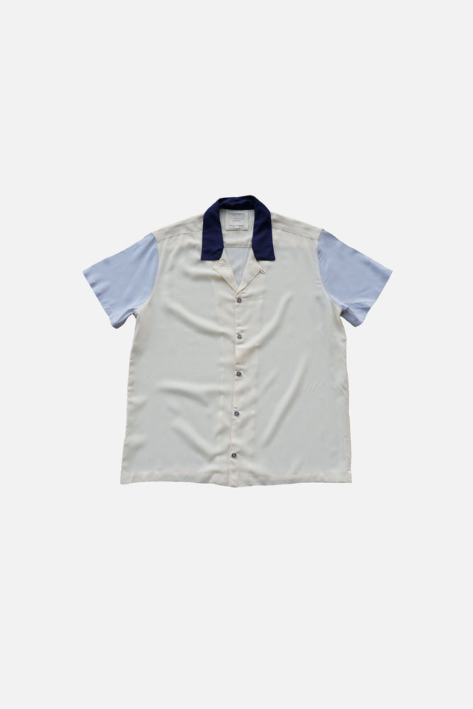 Archie Tri-Color Shirt (Navy - Gray)