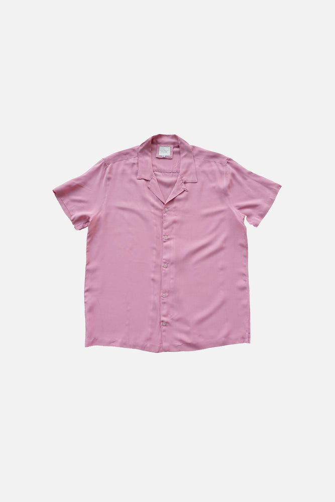 Cubano Shirt (Old Rose) by ILUSTRADOS