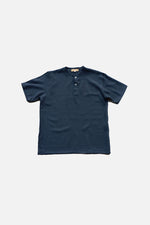 LINEN CHINO TOP (Midnight Blue) - ILUSTRADOS