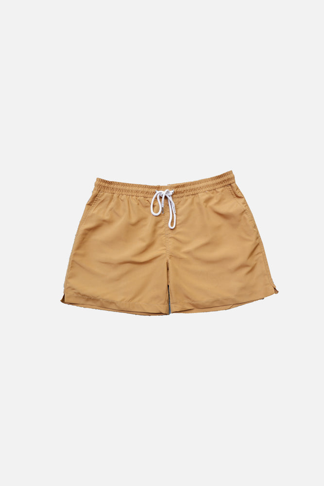 Mustard - Deck Swim Shorts by HISTORE