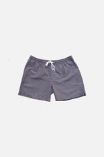 Charcoal Gray - Deck Swim Shorts by HISTORE (4711561166925)