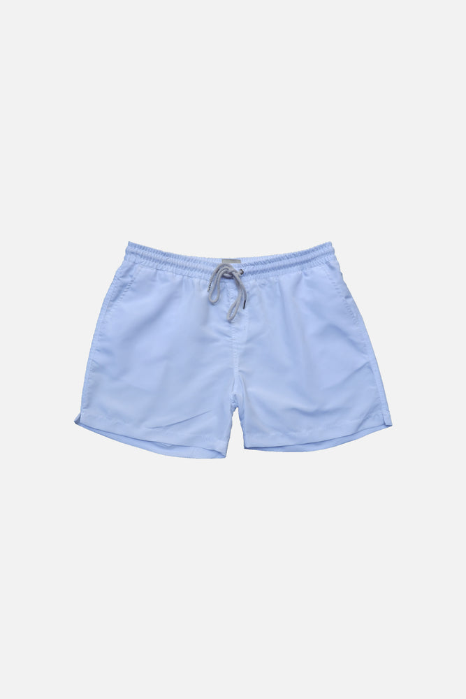 Clean White - Deck Swim Shorts by HISTORE (4711576371277)