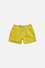 Neon Yellow - Deck Swim Shorts by HISTORE (4711578370125)