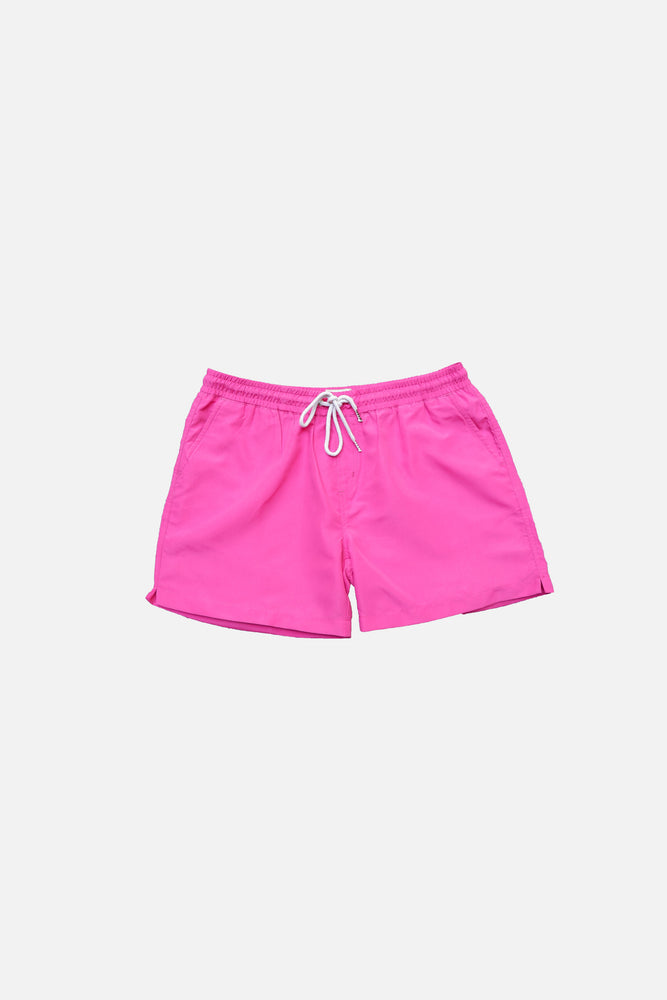 Hot Pink - Deck Swim Shorts by HISTORE