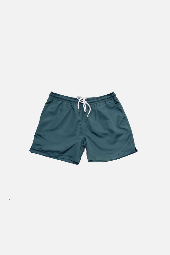 Pine Green - Deck Swim Shorts by HISTORE