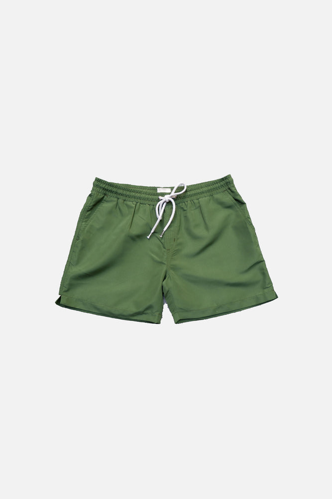 Olive Green - Deck Swim Shorts by HISTORE (4711591772237)