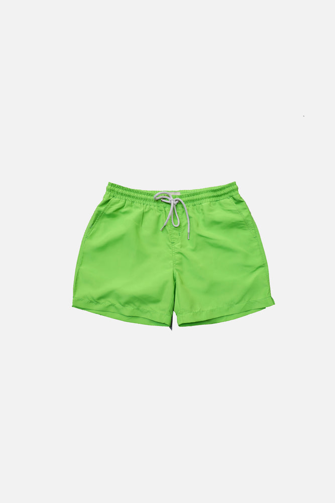 Neon Green - Deck Swim Shorts by HISTORE