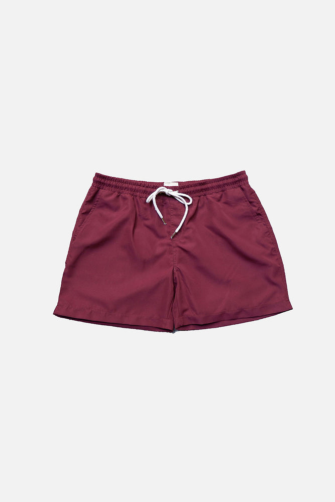 Wine - Deck Swim Shorts by HISTORE