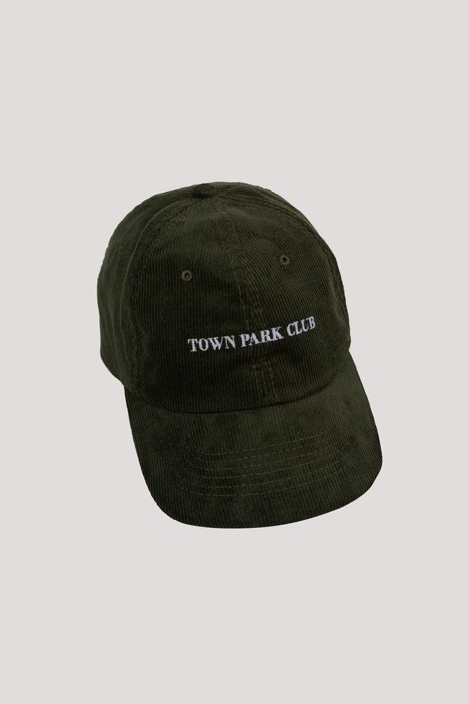 Town Park Club Cap (Moss Green)