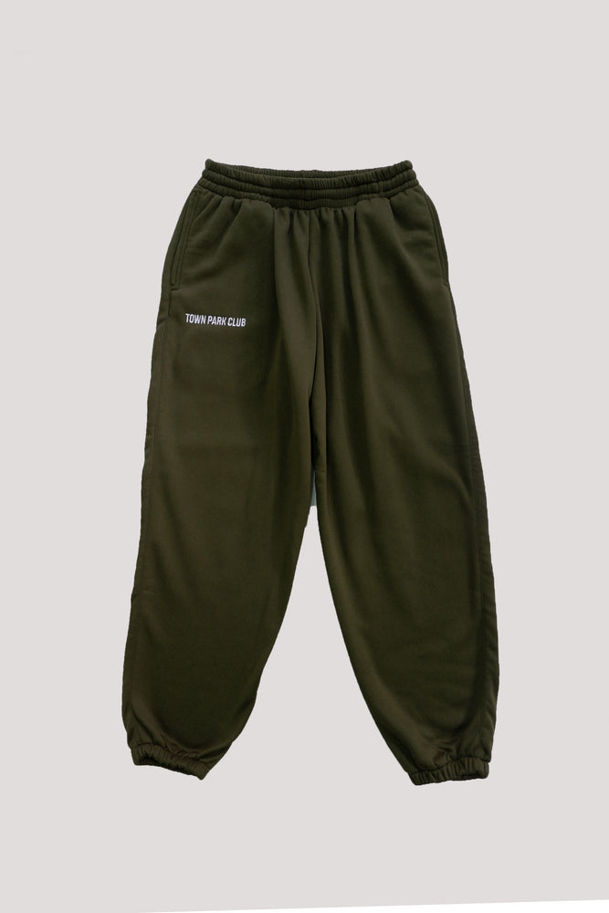 Sweatpants (Moss green) by Town Park Club