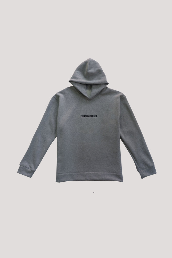 Hoodie (Heathered Grey) by Town Park Club