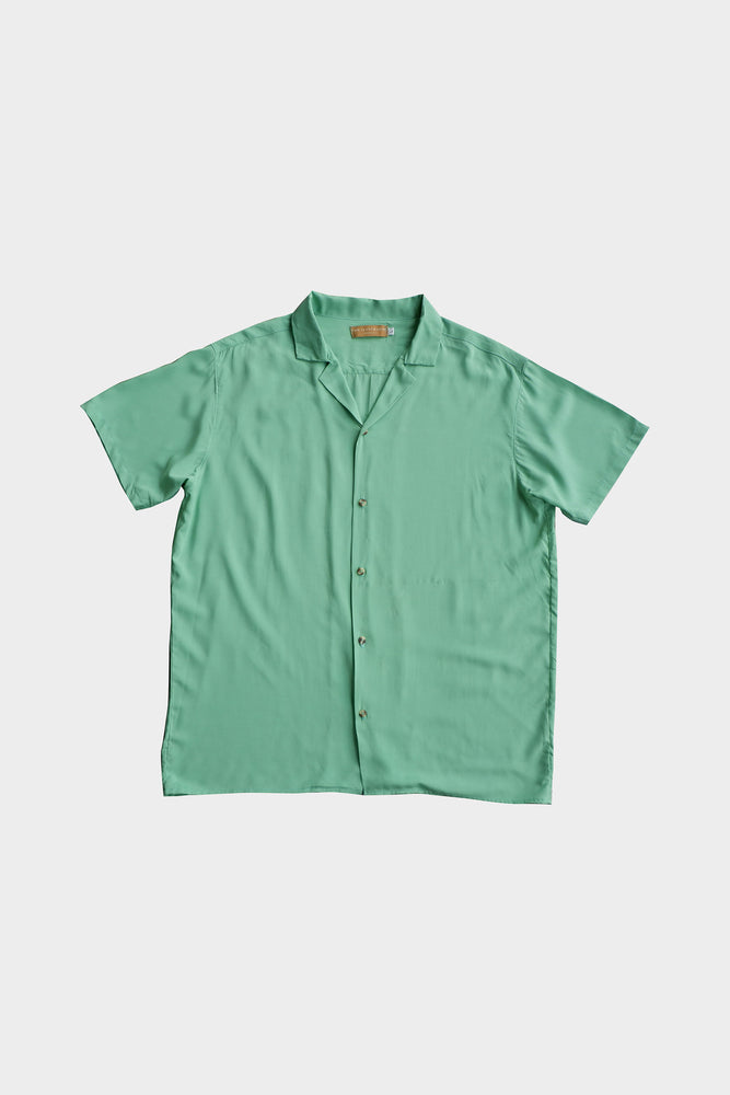 Cubano Shirt (Apple Green) by ILUSTRADOS