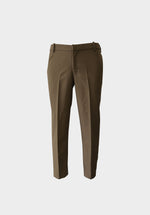 ILUSTRADOS - Ankle Pants (Dark Khaki) (4481148256333)