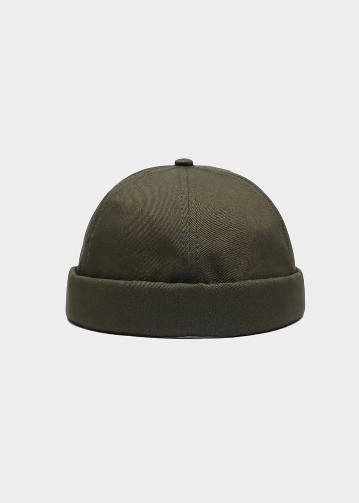 BRIMLESS CAP ( ARMY GREEN )