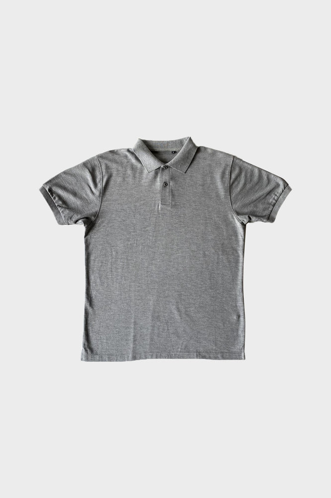 ILUSTRADOS - Barrett Polo Shirt (Acid Gray)
