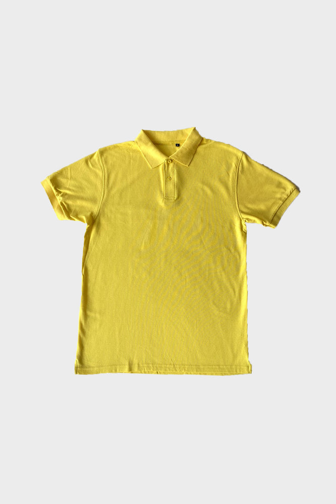 ILUSTRADOS - Barrett Polo Shirt (Yellow)