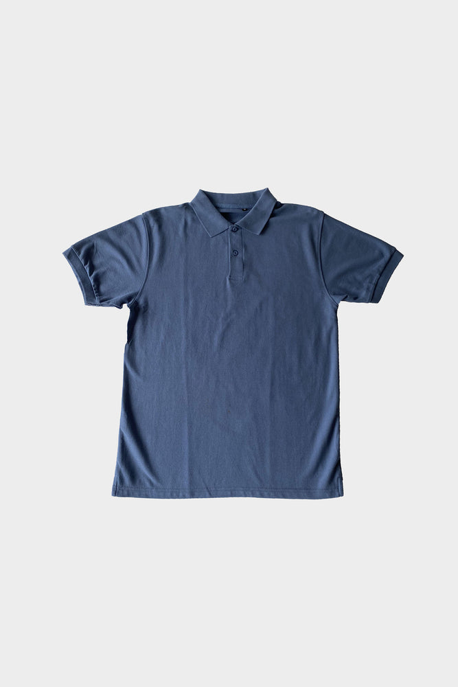 ILUSTRADOS - Barrett Polo Shirt (Slate Blue)