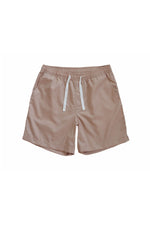 Sprint Cotton Shorts (Tan) By HISTORE