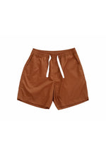 Sprint Cotton Shorts (Walnut) By HISTORE