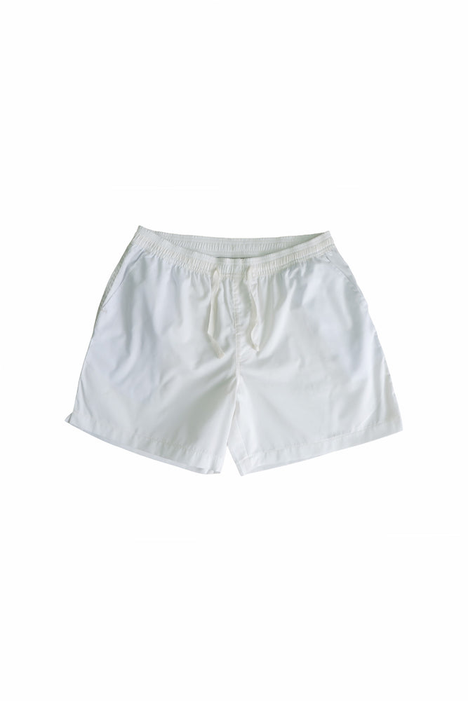 Sprint Cotton Shorts (Cream white) By HISTORE
