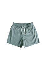 Sprint Cotton Shorts (Seagreen) By HISTORE