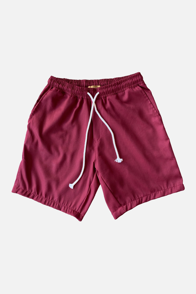 ROMAN CASUAL SHORTS (Wine)