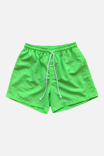 Deck Swim Shorts (Neon Green) by ILUSTRADOS