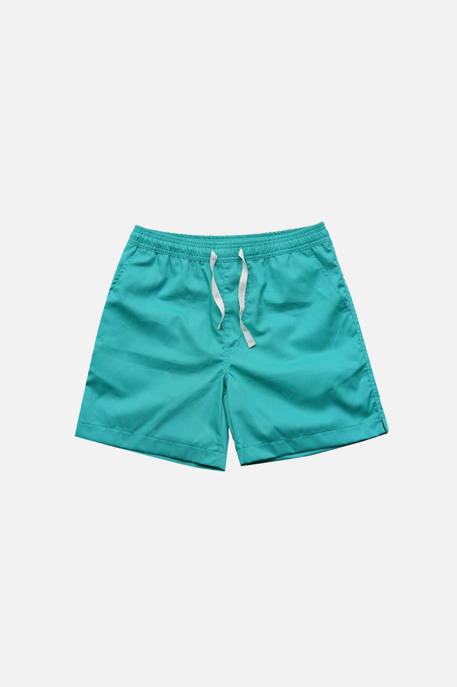Sprint Cotton Shorts (Teal) by HOVERMEN