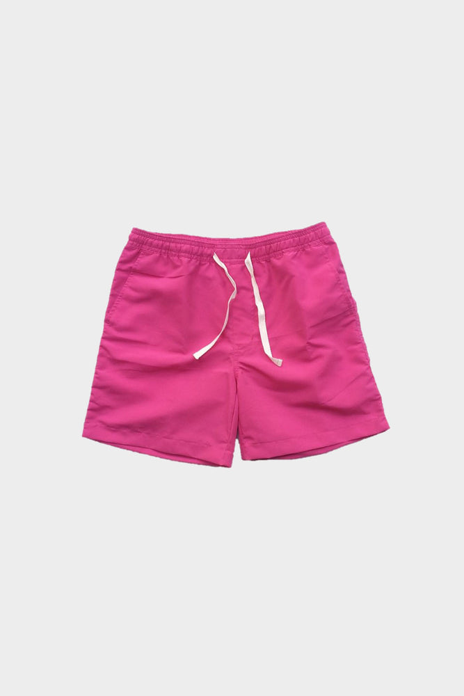 Deck Swim Shorts (Bright Pink) by HOVERMEN