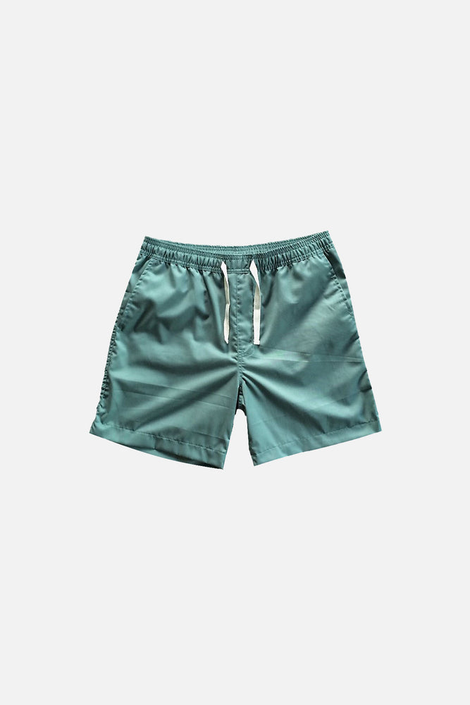 Sprint Cotton Shorts (Blue Green) by HOVERMEN