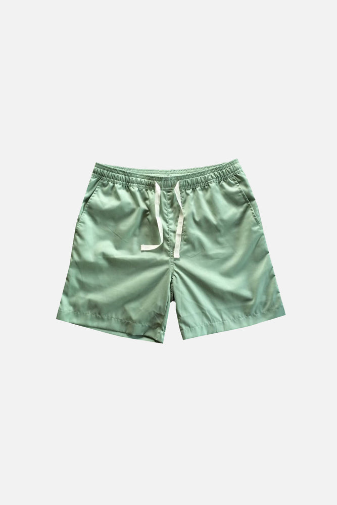 Sprint Cotton Shorts (Soft Green) by HOVERMEN (4476729622605)