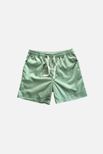 Sprint Cotton Shorts (Soft Green) by HOVERMEN