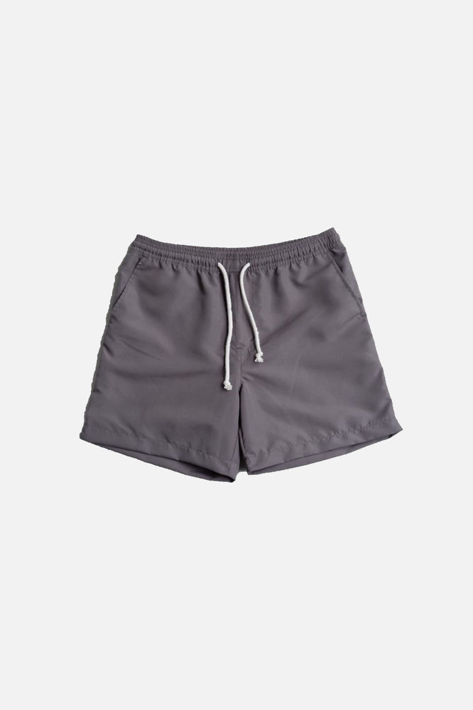 Deck Swim Shorts (Dark Gray) by HOVERMEN