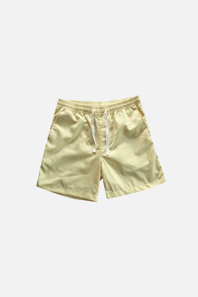 Sprint Cotton Shorts (Light Yellow) by HOVERMEN