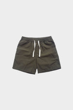 Deck Swim Shorts (Moss Green) by HOVERMEN