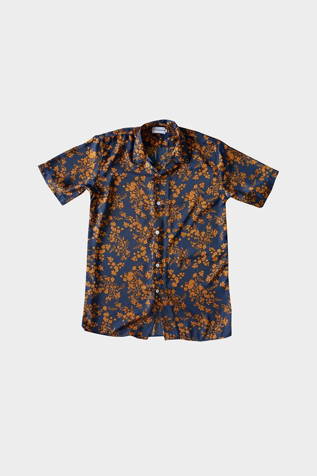 Celio - Printed Cuban Shirt by HOVERMEN